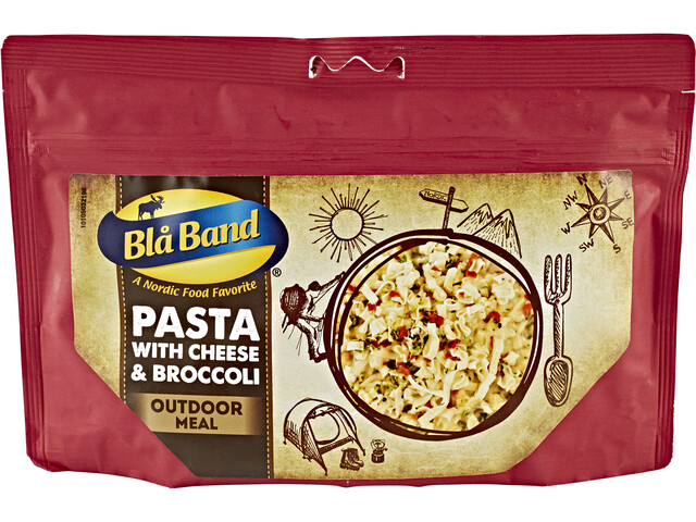 Blå Band Outdoor Pasto pronto, Pasta with Cheese and Broccoli